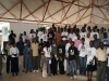 Group photo of dialogue participants at Mazimbu