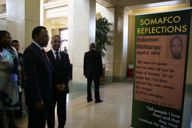 Somafco prize initiative - Kgalema-mothlanthe