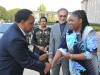 Deputy President Kgalema Motlanthe and sponsors